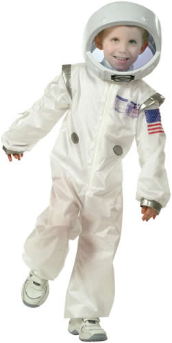 astronaut kinder karneval fasching kost m gr 104 140 ebay. Black Bedroom Furniture Sets. Home Design Ideas