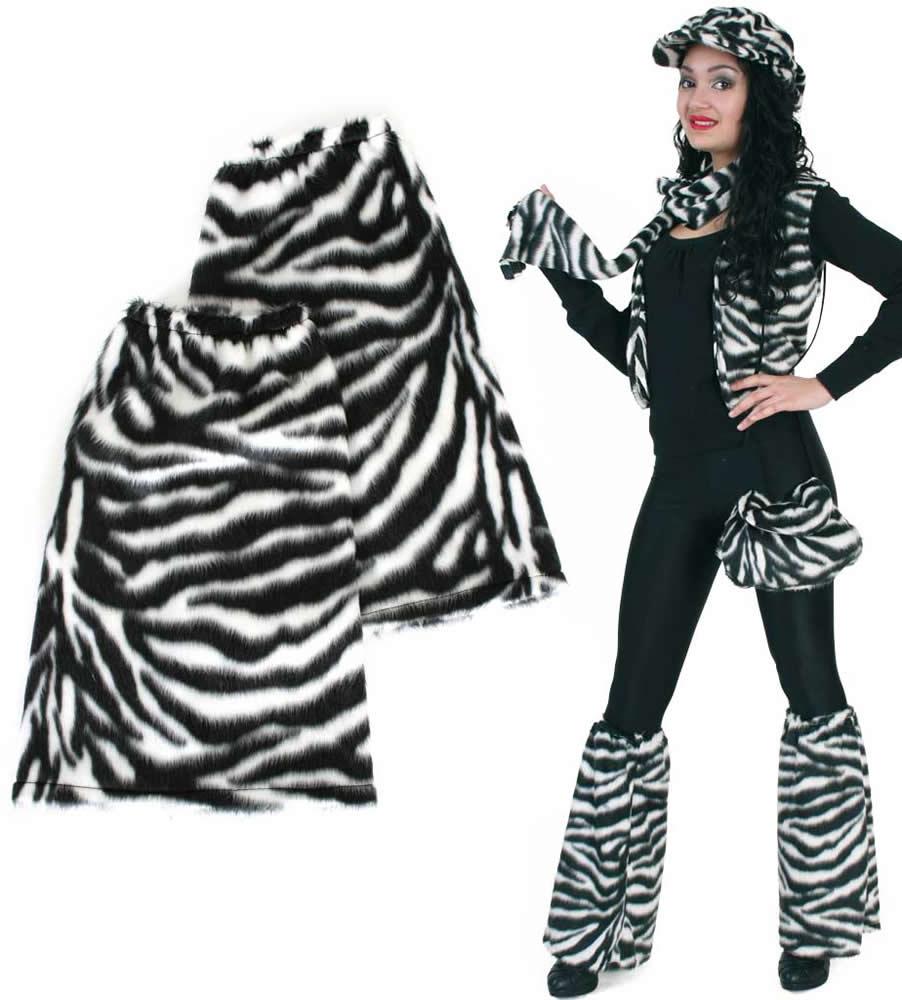 Tier Bein Stulpen Plusch Karneval Fasching Kostum Ebay