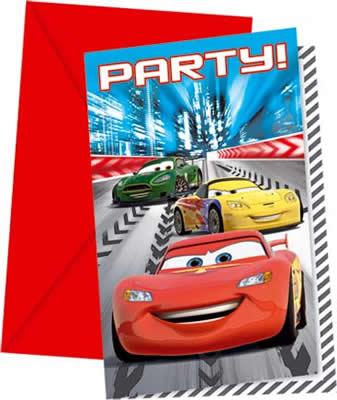 Einladungskarten Kindergeburtstag Cars U2013 Askceleste, Einladungs