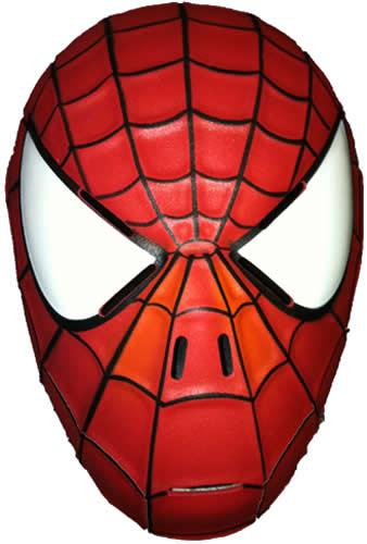 spiderman kinder maske rot spider man karneval fasching. Black Bedroom Furniture Sets. Home Design Ideas