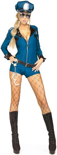 Sexy-Polizistin-Polizist-Karneval-Fasching-Kostuem-34-44