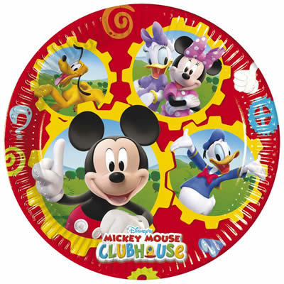 kindergeburtstag geburtstag party fete motto mickey mouse ebay. Black Bedroom Furniture Sets. Home Design Ideas