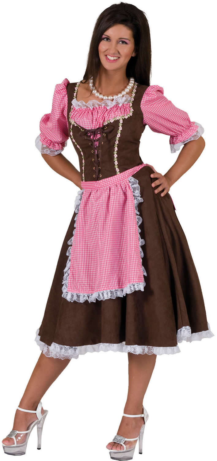 sexy dirndl oktoberfest bayern tracht trachtenkleid karneval kost m 32 50 ebay. Black Bedroom Furniture Sets. Home Design Ideas