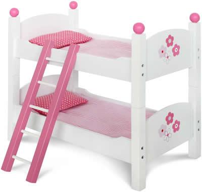chic 2000 bayer fiori bianco holz puppenm bel hochstuhl. Black Bedroom Furniture Sets. Home Design Ideas