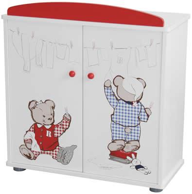 roba puppenm bel teddy college schrank bett wiege kommode hochstuhl holz ebay. Black Bedroom Furniture Sets. Home Design Ideas