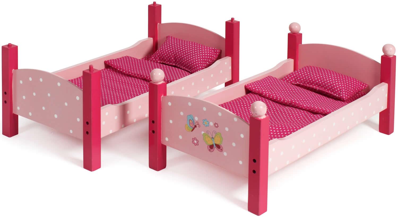 chic 2000 bayer papilio pink holz puppenm bel hochstuhl wiege bett schrank ebay. Black Bedroom Furniture Sets. Home Design Ideas