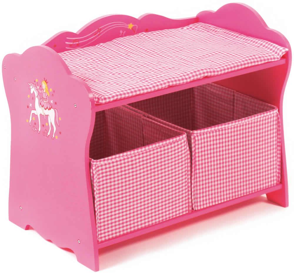 Chic 2000 bayer little fairy pink holz puppenmöbel hochstuhl bett ...