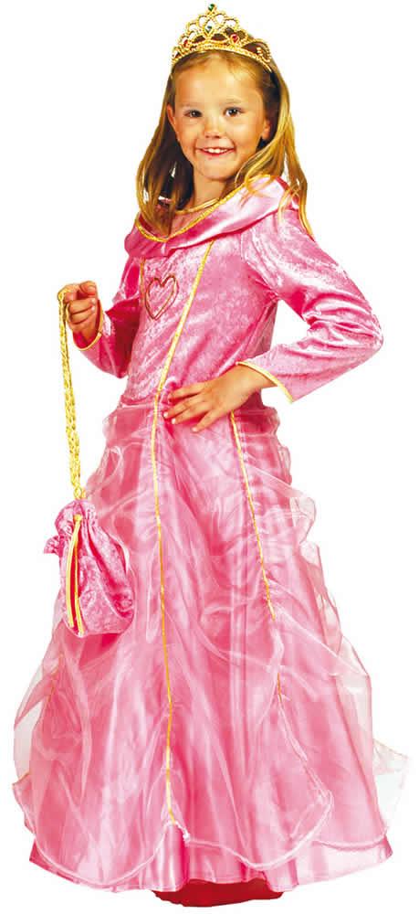 Prinzessin-Kinder-Karneval-Fasching-Kostuem-98-140