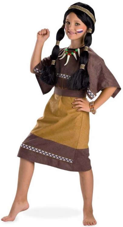 Indianermu00e4dchen Indianerin Indianer Kinder Karneval Kostu00fcm ...