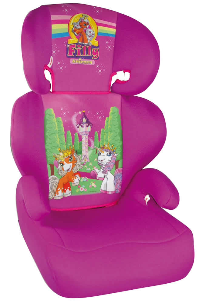 auto kindersitz autositz kinderautositz filly unicorn einhorn 15 36 kg. Black Bedroom Furniture Sets. Home Design Ideas