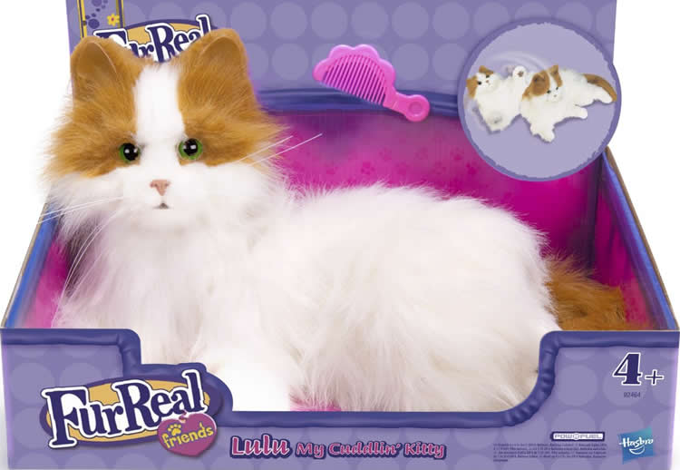 Hasbro - FurReal Friends – Interactive Cat 'Bootsie' - YouTube |Real Friends Toys For Lucy