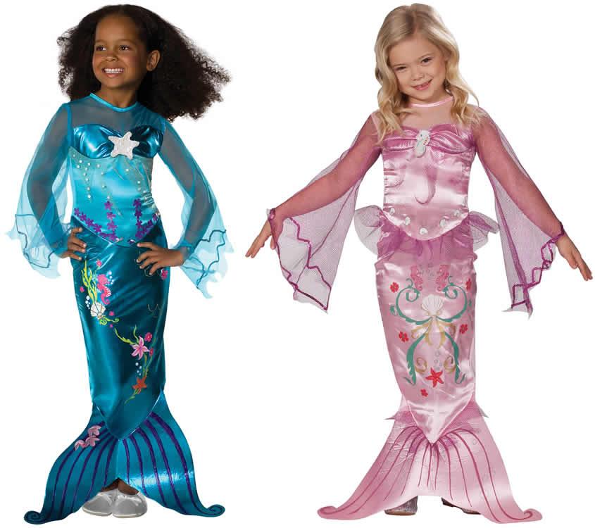 Сделать костюм русалки для девочки своими руками 62