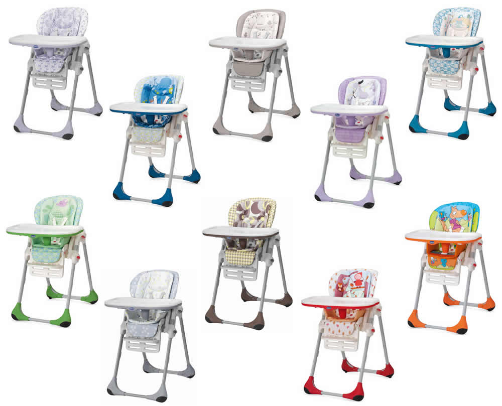 chicco polly 2 in 1 highchair baby high chair ebay. Black Bedroom Furniture Sets. Home Design Ideas
