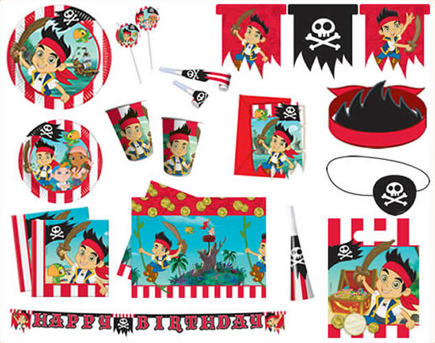 Das Bild Wird Geladen Kindergeburtstag Geburtstag Party Fete Pirat Jake  Und Die