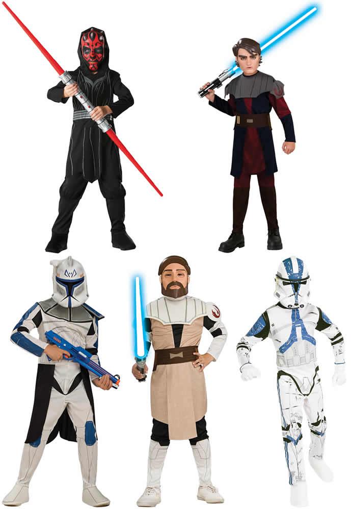 Star-Wars-Darth-Maul-Clonetrooper-Rex-Anakin-Obi-Wan-Kenobi-Karneval-Kostuem