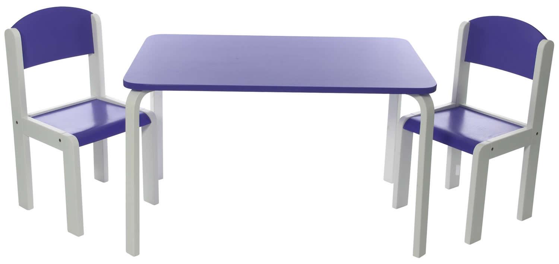 Kinder-Sitzgruppe Fabio oder Fabio XL mit Tisch und 2 ...