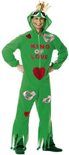 king of love frosch karneval fasching kost m bis 52 ebay. Black Bedroom Furniture Sets. Home Design Ideas