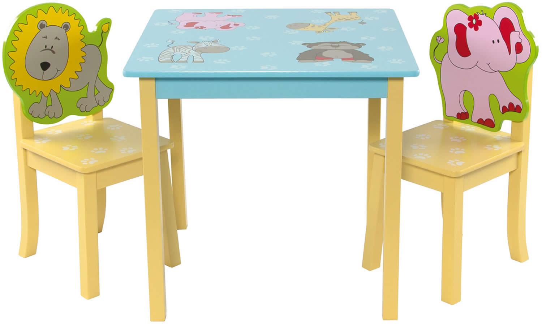 Kinder Sitzgruppe Mit Kindertisch Tisch Und 2 Stühlen