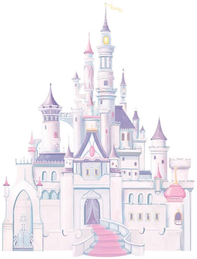 RoomMates Wandsticker Disney Princess