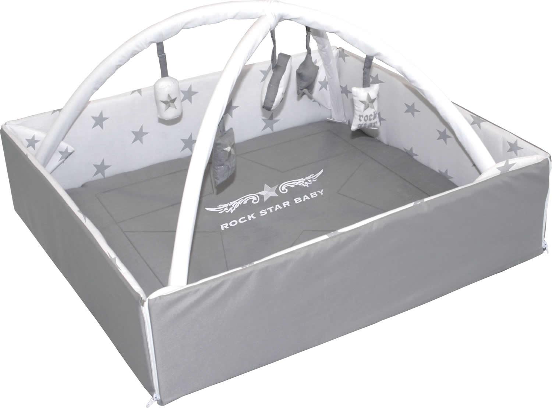 roba baby nest mit spielbogen krabbeldecke wickelauflage ebay. Black Bedroom Furniture Sets. Home Design Ideas