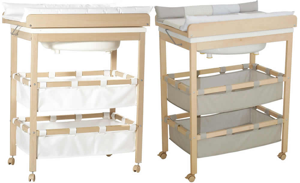 roba bade wickel kombination wickeltisch baby badewanne ebay. Black Bedroom Furniture Sets. Home Design Ideas