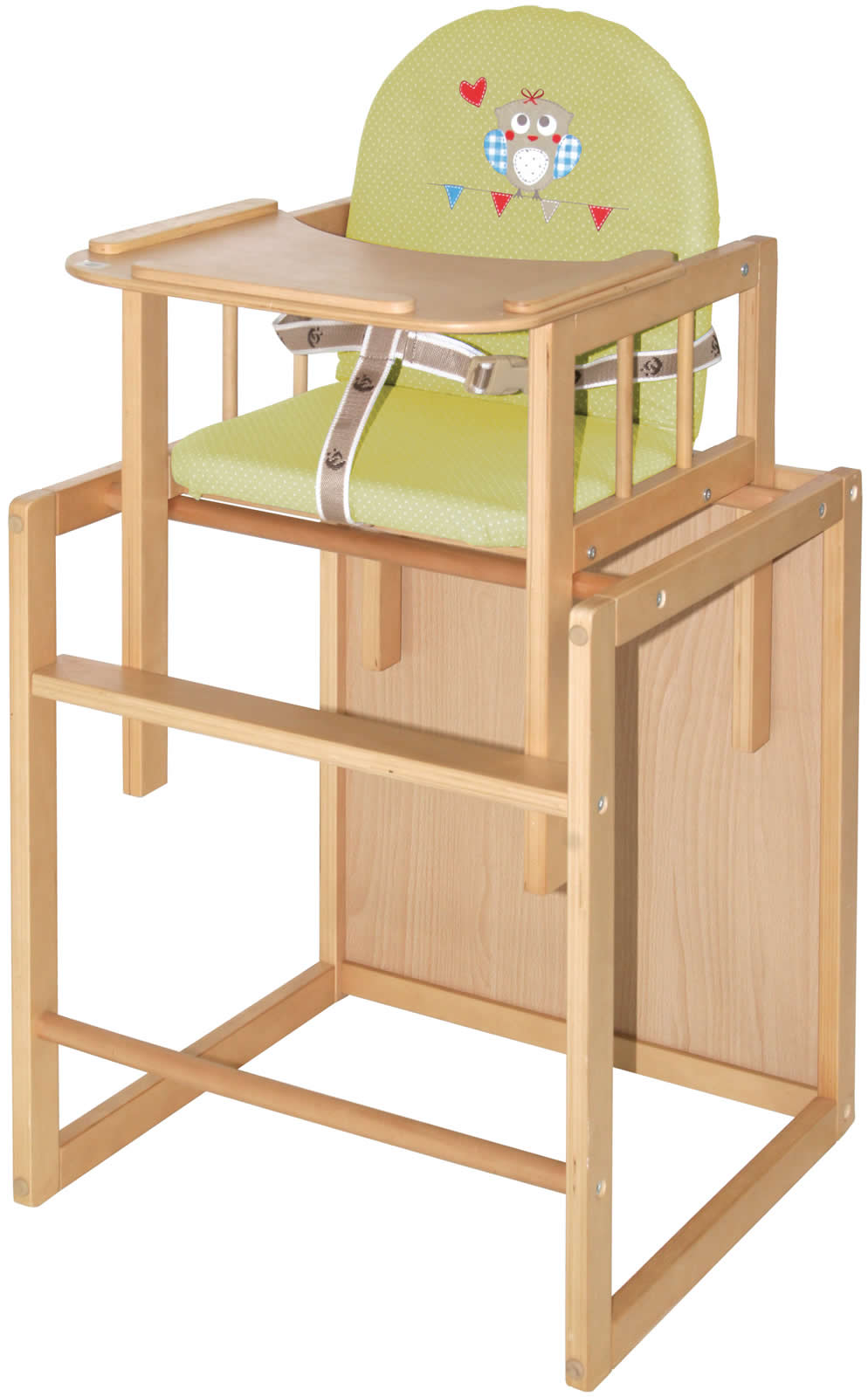 roba kombihochstuhl hochstuhl kinderhochstuhl holz ro7512. Black Bedroom Furniture Sets. Home Design Ideas