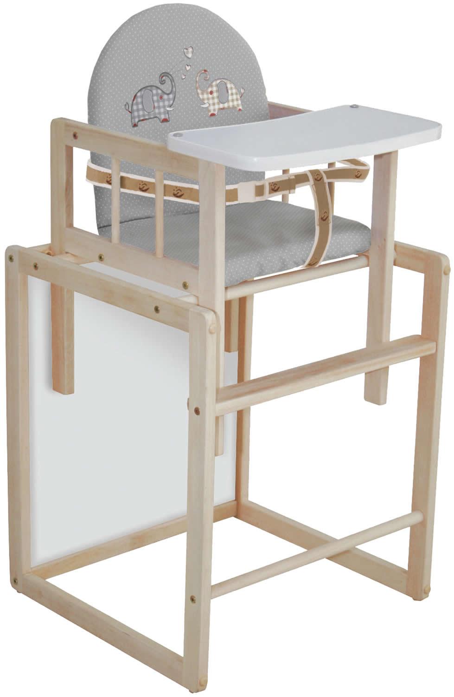 roba kombihochstuhl hochstuhl kinderhochstuhl holz ro7512 ebay. Black Bedroom Furniture Sets. Home Design Ideas