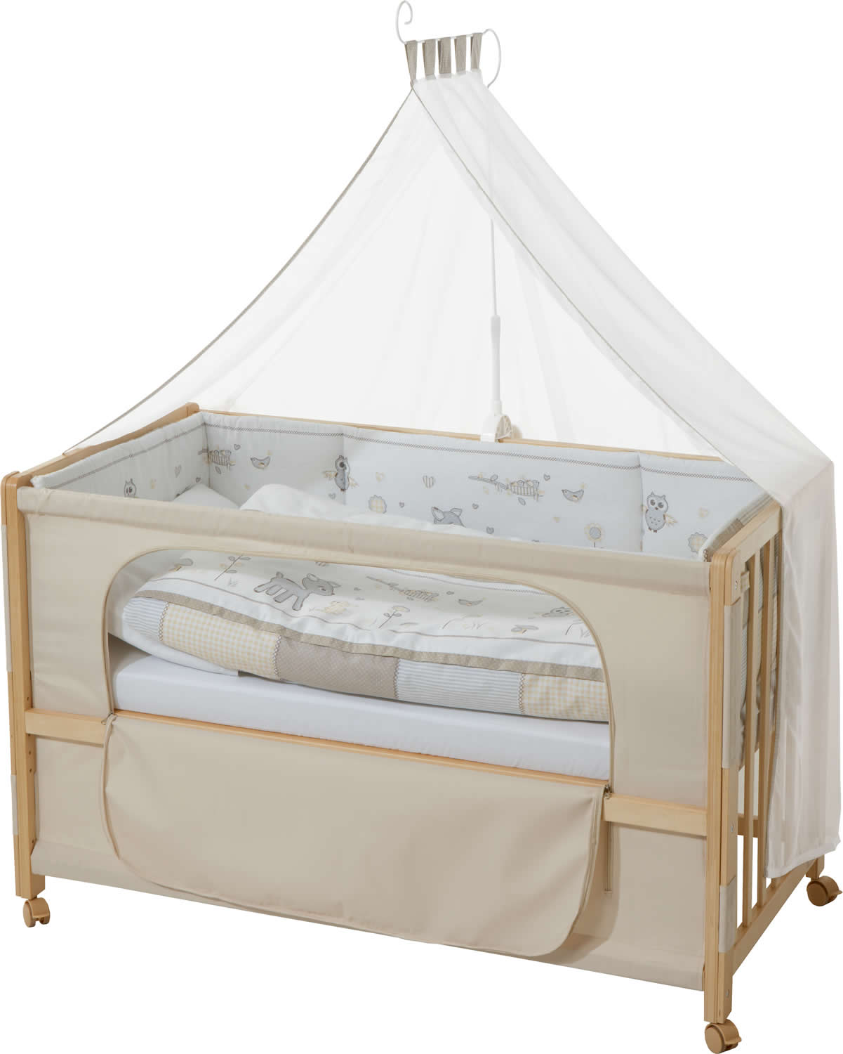roba room bed babybett kinderbett beistellbett juniorbett ebay. Black Bedroom Furniture Sets. Home Design Ideas
