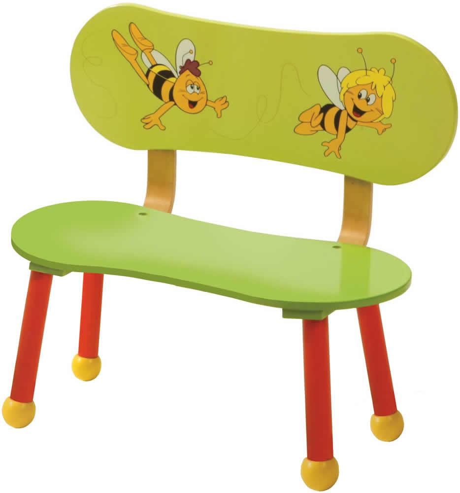 roba kinder sitzgruppe biene maja kindersitzbank sitzbank. Black Bedroom Furniture Sets. Home Design Ideas