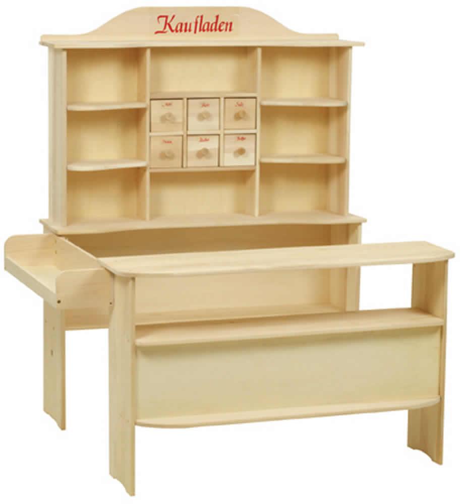 roba kaufladen wei mit tafel 9892 w ebay. Black Bedroom Furniture Sets. Home Design Ideas