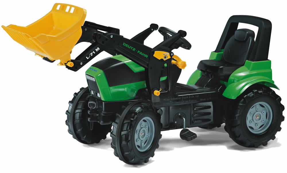 rolly toys traktor trettraktor lader anh nger john deere deutz fahr fendt ebay. Black Bedroom Furniture Sets. Home Design Ideas