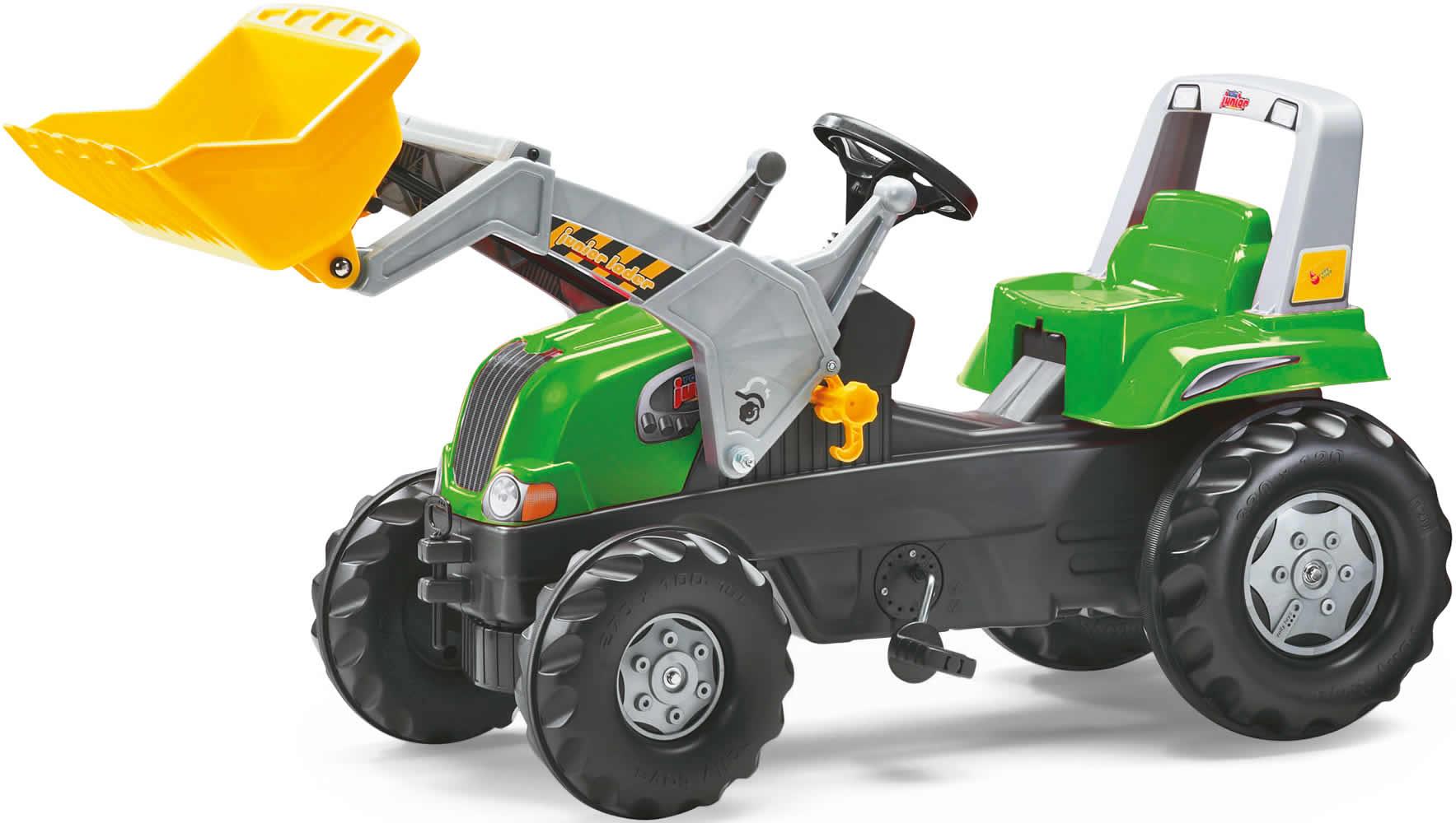 rolly toys traktor trettraktor lader anh nger john deere. Black Bedroom Furniture Sets. Home Design Ideas