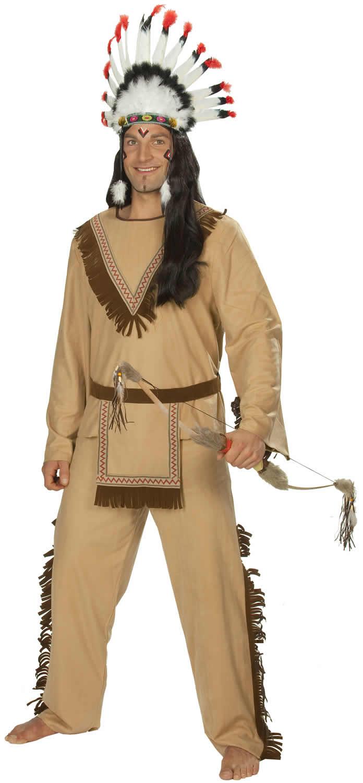 apachen indianer karneval fasching kost m 48 58 ebay. Black Bedroom Furniture Sets. Home Design Ideas