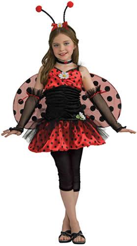 ladybug marienk fer k fer kinder karneval fasching kost m. Black Bedroom Furniture Sets. Home Design Ideas