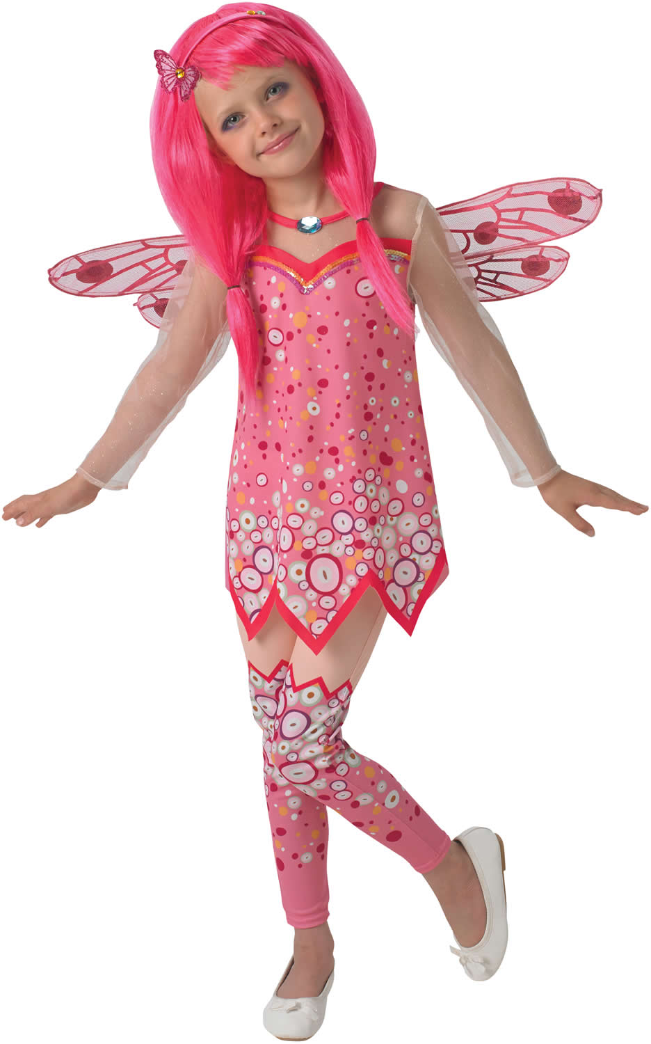Mia And Me Deluxe Kinder Karneval Fasching Kost M 104 128