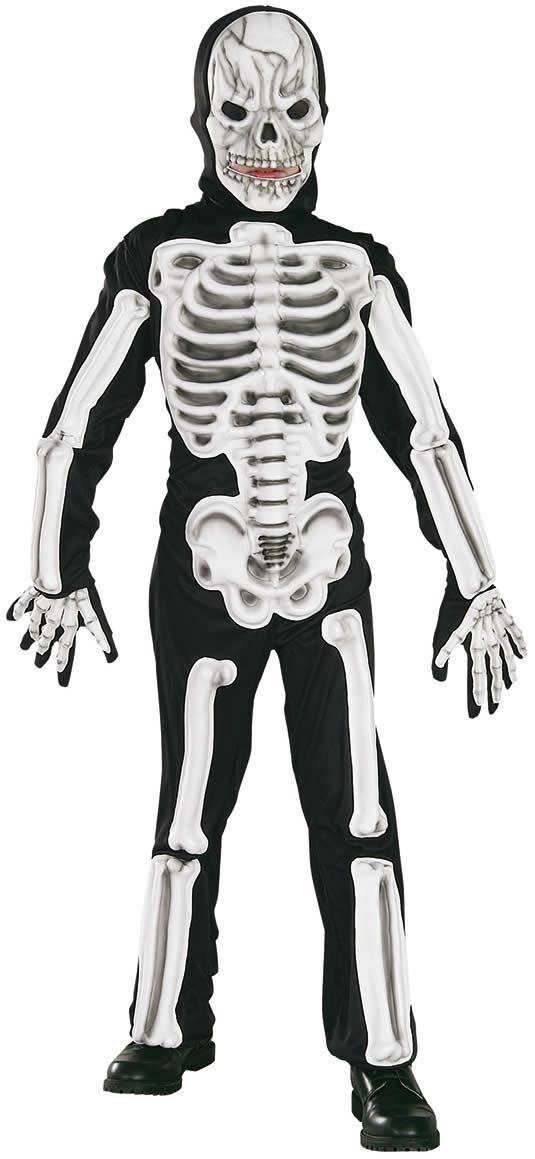 skeleton skelett horror kinder karneval halloween kost m 116 152 ebay. Black Bedroom Furniture Sets. Home Design Ideas