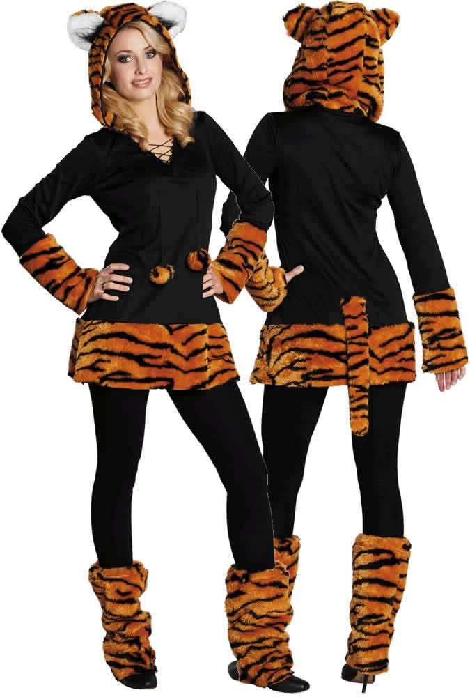 katze leopard tiger karneval fasching kost m 32 58 ebay. Black Bedroom Furniture Sets. Home Design Ideas