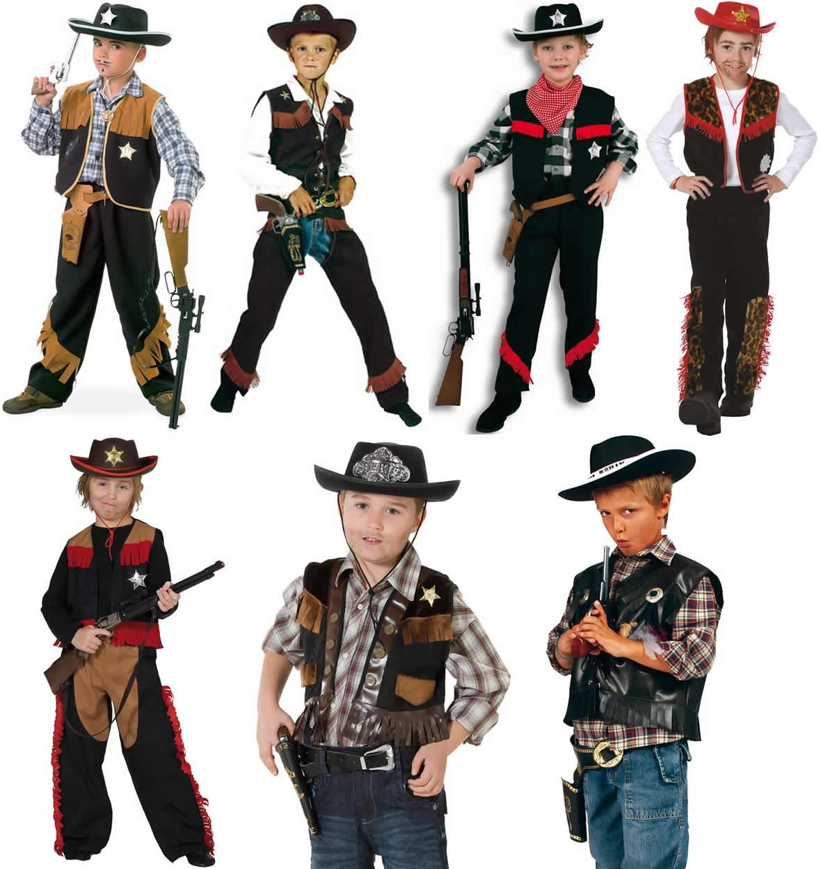 Cowboy Cowboyweste Weste Kinder Karneval Fasching Kostum 104 152 Ebay
