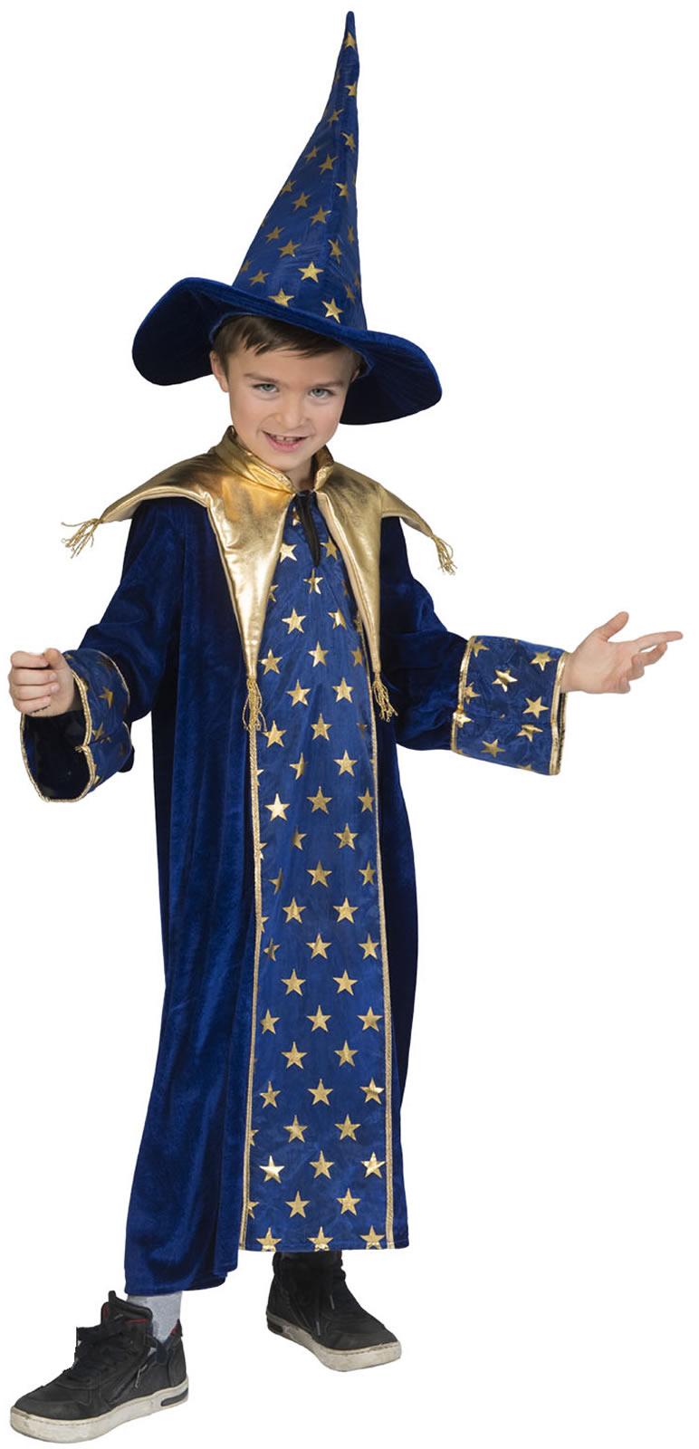 Zauberer Meister Magier Kinder Karneval Fasching Kostum 116 164 Ebay