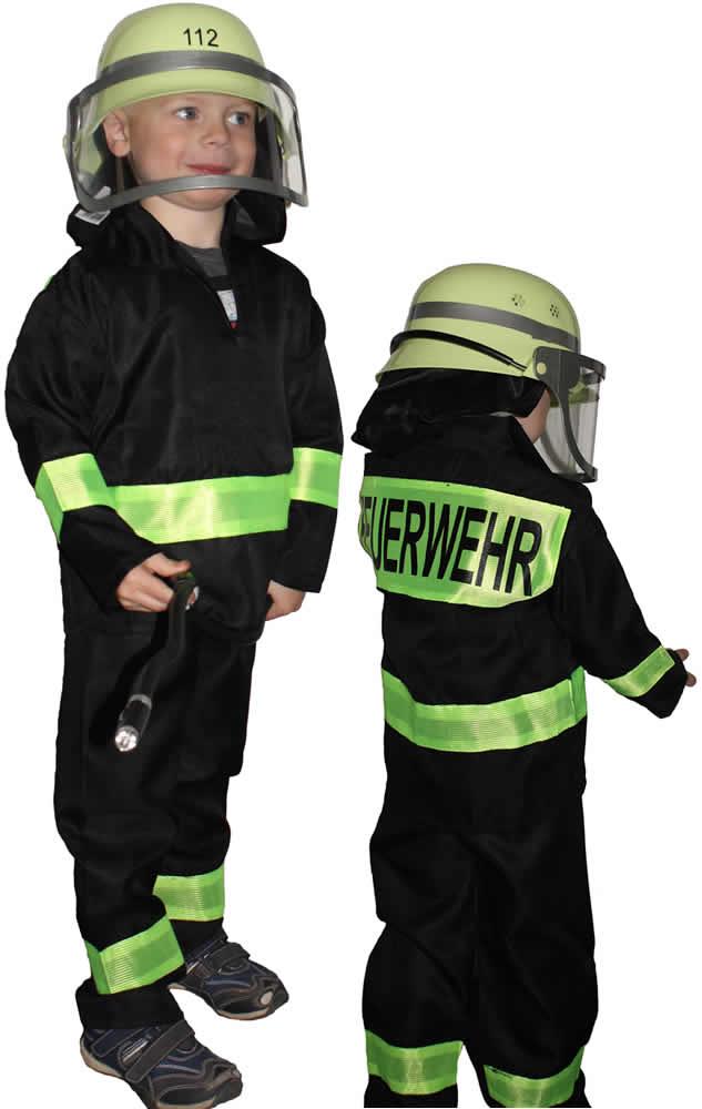 2019 authentisch Veröffentlichungsdatum bester Platz Details zu Feuerwehruniform Feuerwehrmann Feuerwehr Kinder Karneval Kostüm  98-152