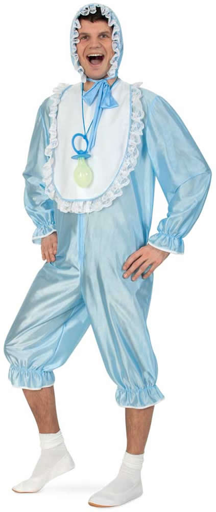 baby doll boy blau pyjama junggesellenabschied karneval kost m 44 58 ebay. Black Bedroom Furniture Sets. Home Design Ideas