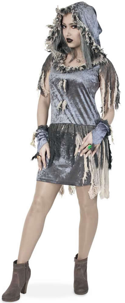 f88edce435010f Zombie Horror Halloween Karneval Fasching Kostüm 34-46