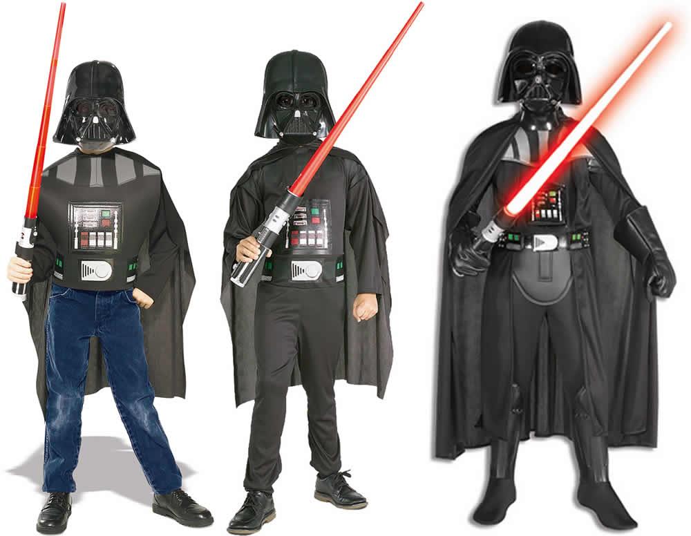 Star Wars Darth Vader Kinder Karneval Fasching Kostüm 116 164 Ebay