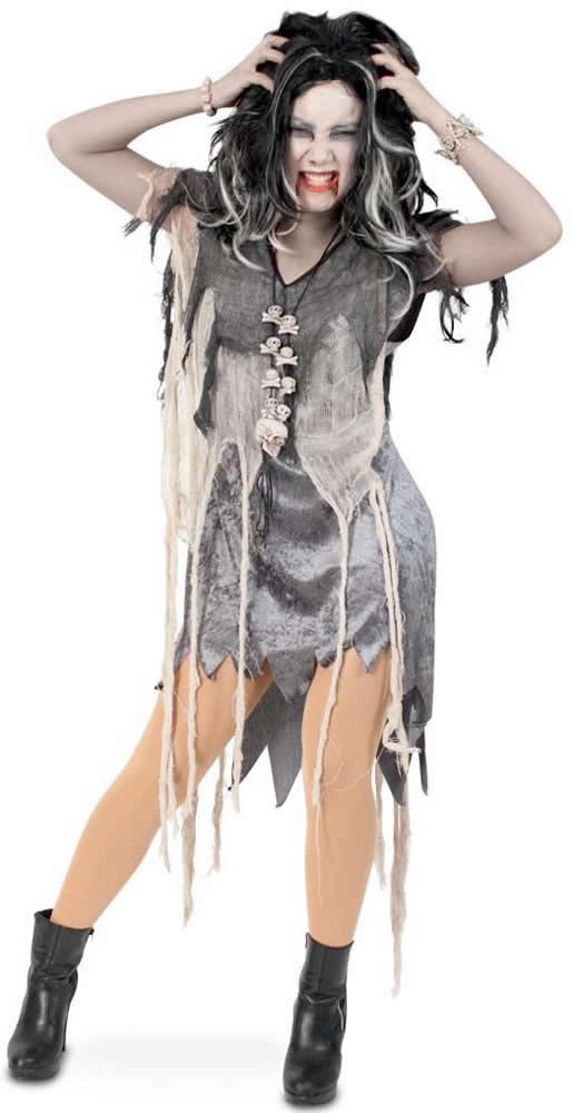 Zombie Horror Halloween Karneval Fasching Kostum 36 46 Ebay
