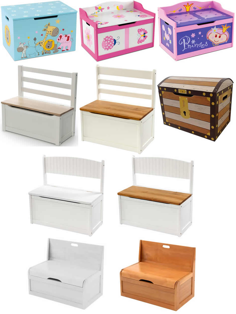 kinder sitzbank holzbank truhenbank truhe spielzeugbox ebay. Black Bedroom Furniture Sets. Home Design Ideas