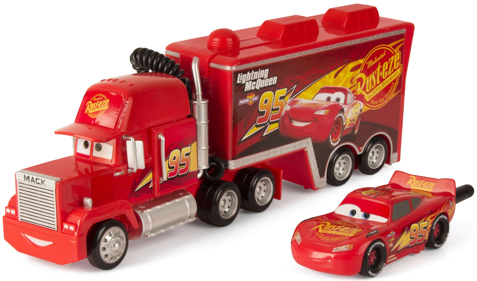Disney Cars 3 Mack Truck Funkstation Walkie-Talkie +3J | eBay