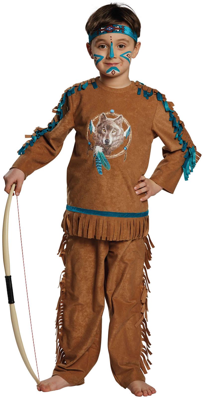 indianerjunge indianer kinder karneval kost m 104 164 ebay. Black Bedroom Furniture Sets. Home Design Ideas