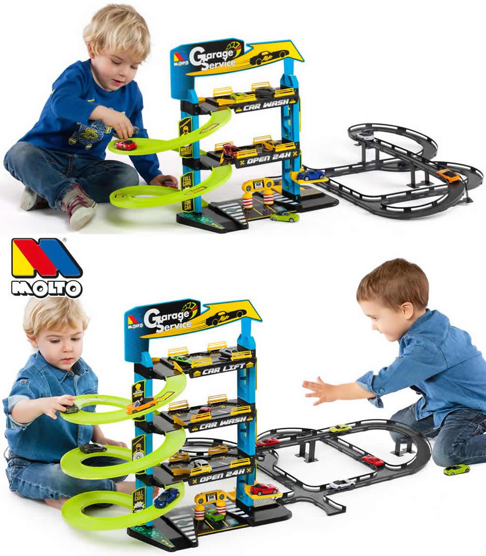 5 Ebenen Molto Garage Parkhaus Parkgarage Autogarage 3 4 o Spielzeugautos