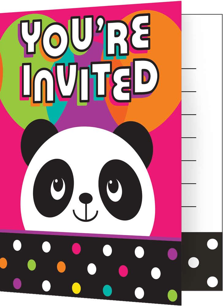 Kindergeburtstag Geburtstag Party Fete Feier Motto Panda