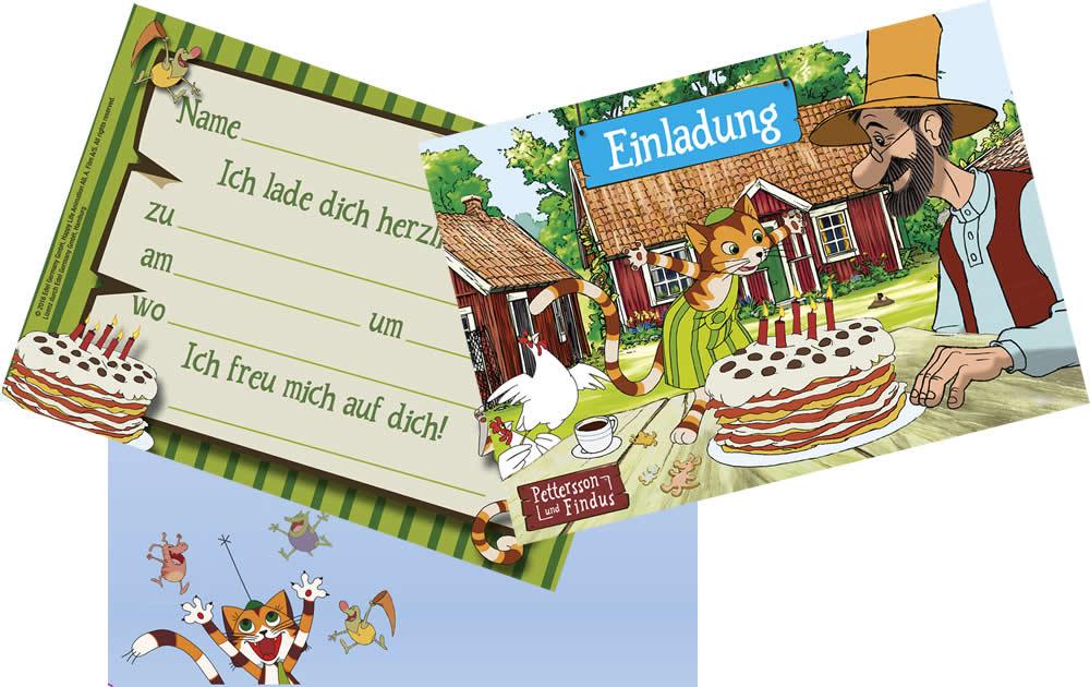 Kindergeburtstag Geburtstag Party Fete Feier Motto Pettersson Und